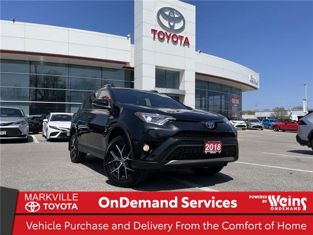 2018 Toyota RAV4 Hybrid SE (Stk: 38425U) in Markham - Image 1 of 30