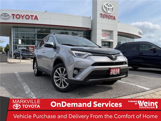 2018 Toyota RAV4 Limited (Stk: 38822U) in Markham - Image 1 of 28