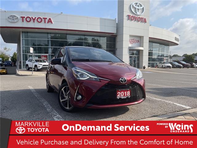 2018 Toyota Yaris SE (Stk: 38877U) in Markham - Image 1 of 23