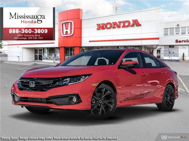2020 Honda Civic Sport (Stk: 327929) in Mississauga - Image 1 of 21