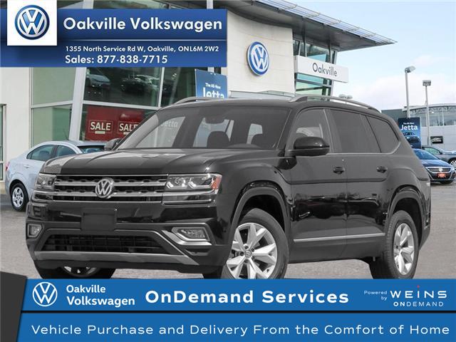 2019 Volkswagen Atlas 3.6 FSI Highline (Stk: 21264) in Oakville - Image 1 of 19