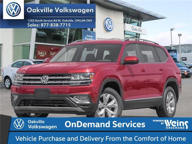2019 Volkswagen Atlas 3.6 FSI Comfortline (Stk: 21056) in Oakville - Image 1 of 2