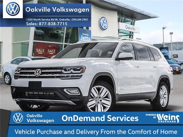 2019 Volkswagen Atlas 3.6 FSI Execline (Stk: 21846) in Oakville - Image 1 of 23