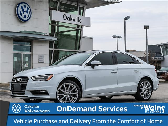 2016 Audi A3 2.0T Technik (Stk: 7096V) in Oakville - Image 1 of 25