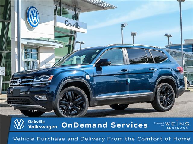 2019 Volkswagen Atlas 3.6 FSI Highline (Stk: 21433) in Oakville - Image 1 of 23