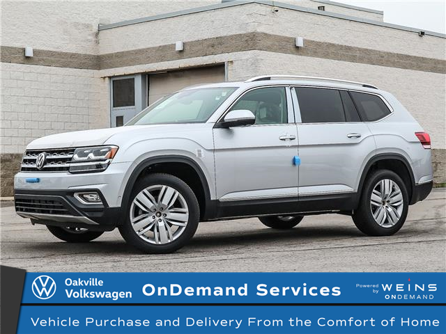 2019 Volkswagen Atlas 3.6 FSI Execline (Stk: 22012) in Oakville - Image 1 of 3