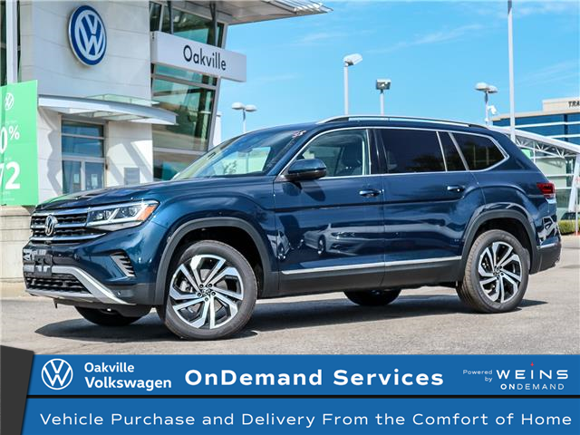 2021 Volkswagen Atlas 3.6 FSI Highline (Stk: 22027) in Oakville - Image 1 of 19