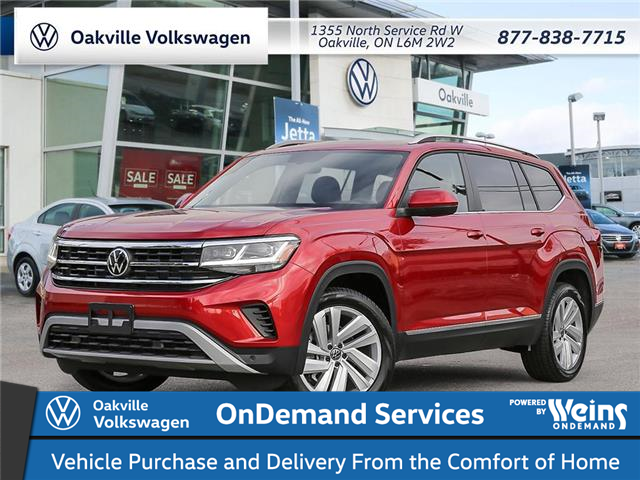 2021 Volkswagen Atlas 3.6 FSI Highline (Stk: 21945) in Oakville - Image 1 of 23