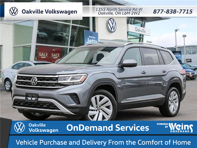 2021 Volkswagen Atlas 3.6 FSI Highline (Stk: 22106) in Oakville - Image 1 of 23
