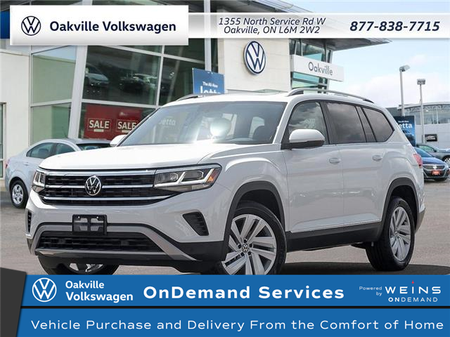 2021 Volkswagen Atlas 3.6 FSI Highline (Stk: 22158) in Oakville - Image 1 of 23