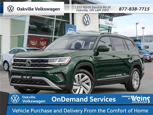 2021 Volkswagen Atlas 3.6 FSI Highline (Stk: 22217) in Oakville - Image 1 of 23