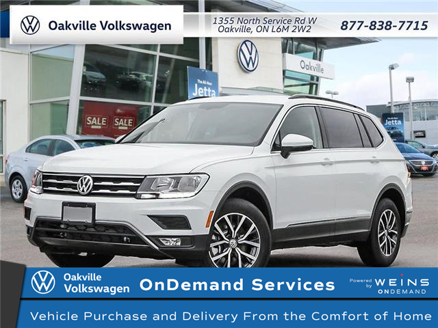 2021 Volkswagen Tiguan Comfortline (Stk: 22246) in Oakville - Image 1 of 23