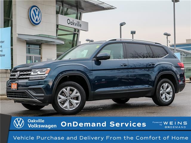 2018 Volkswagen Atlas 3.6 FSI Trendline (Stk: 10227V) in Oakville - Image 1 of 21