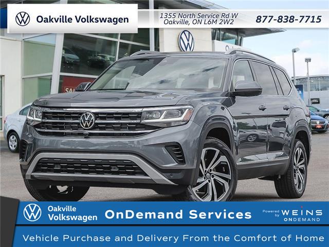 2021 Volkswagen Atlas 3.6 FSI Execline (Stk: 22210) in Oakville - Image 1 of 23
