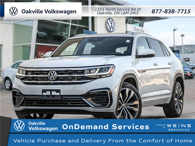 2021 Volkswagen Atlas Cross Sport 3.6 FSI Execline (Stk: 22244) in Oakville - Image 1 of 27