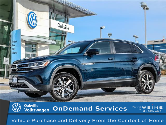 2020 Volkswagen Atlas Cross Sport 3.6 FSI Comfortline (Stk: 21969) in Oakville - Image 1 of 21