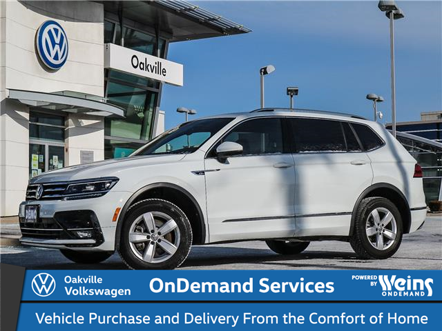 2020 Volkswagen Tiguan Highline (Stk: 22016) in Oakville - Image 1 of 23