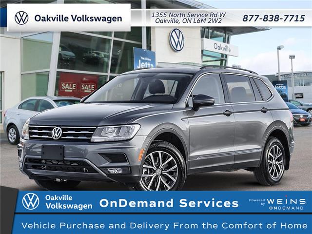 2021 Volkswagen Tiguan Comfortline (Stk: 22272) in Oakville - Image 1 of 23