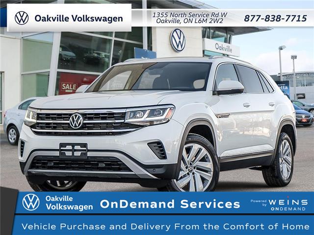 2021 Volkswagen Atlas Cross Sport 3.6 FSI Highline (Stk: 22267) in Oakville - Image 1 of 23