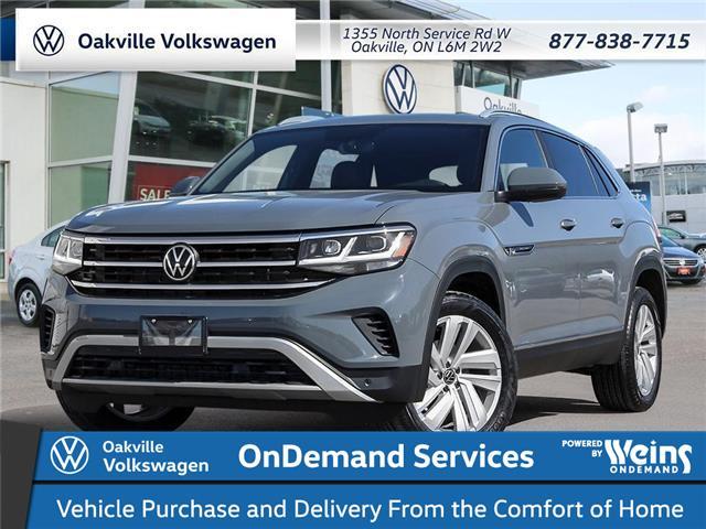 2021 Volkswagen Atlas Cross Sport 2.0 TSI Highline (Stk: 22197) in Oakville - Image 1 of 23