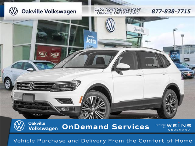 2021 Volkswagen Tiguan Highline (Stk: 22392) in Oakville - Image 1 of 23