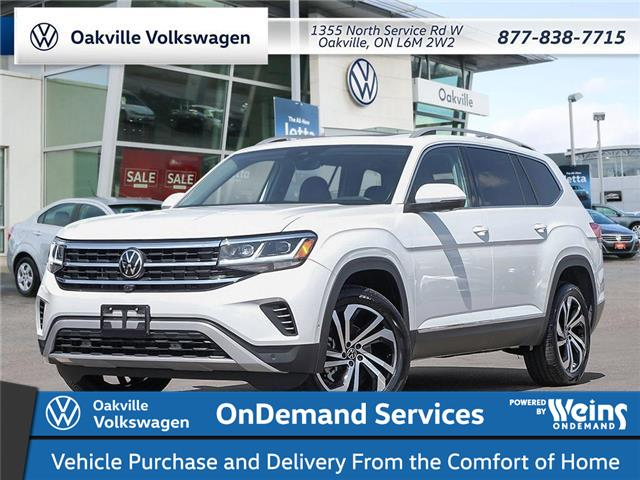 2021 Volkswagen Atlas 3.6 FSI Execline (Stk: 22430) in Oakville - Image 1 of 23