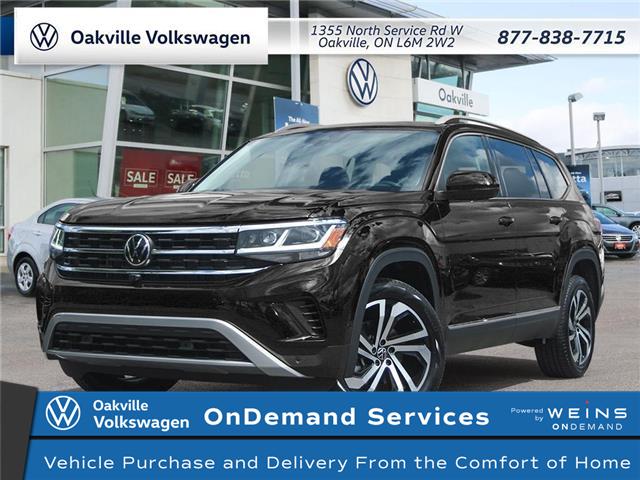 2021 Volkswagen Atlas 3.6 FSI Execline (Stk: 22443) in Oakville - Image 1 of 10