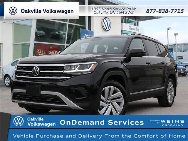 2021 Volkswagen Atlas 3.6 FSI Highline (Stk: 22474) in Oakville - Image 1 of 23
