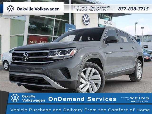 2021 Volkswagen Atlas Cross Sport 3.6 FSI Highline (Stk: 22483) in Oakville - Image 1 of 23