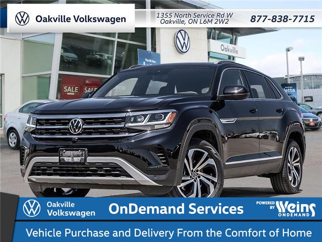 2021 Volkswagen Atlas Cross Sport 3.6 FSI Execline (Stk: 22628) in Oakville - Image 1 of 23