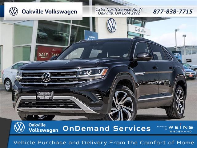 2021 Volkswagen Atlas Cross Sport 3.6 FSI Execline (Stk: 22636) in Oakville - Image 1 of 23