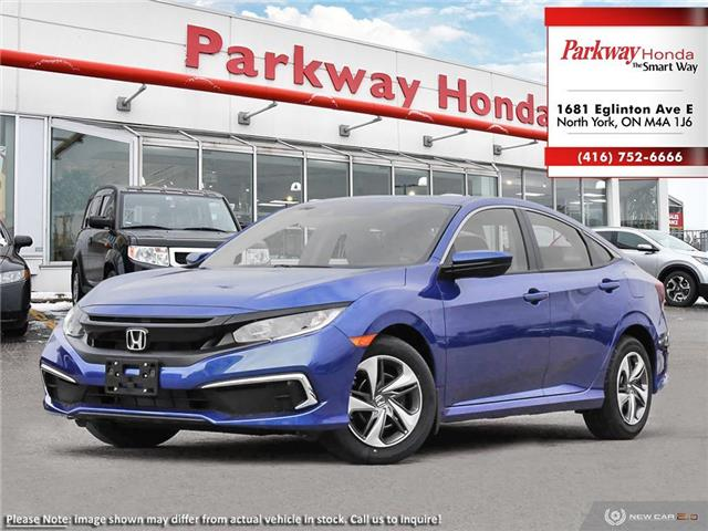2020 Honda Civic LX (Stk: 26283) in North York - Image 1 of 23