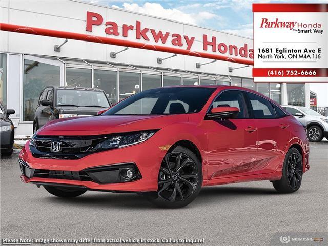 2020 Honda Civic Sport (Stk: 26353) in North York - Image 1 of 21