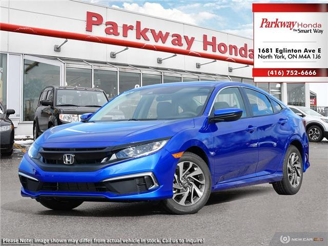 2020 Honda Civic EX (Stk: 26396) in North York - Image 1 of 23