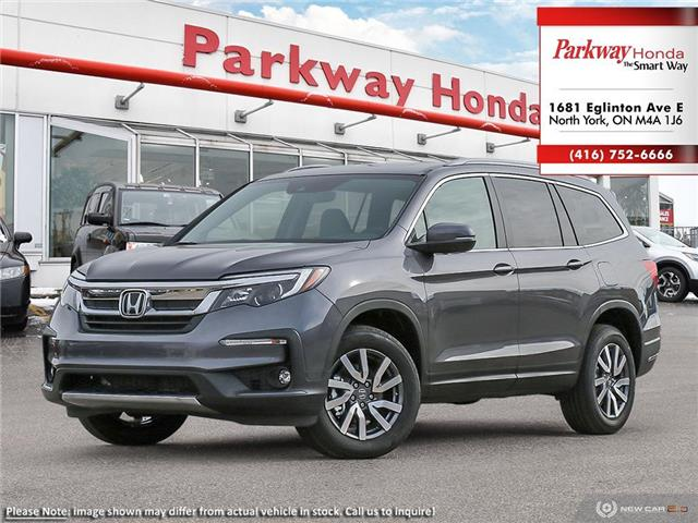 2021 Honda Pilot EX-L Navi (Stk: H1011) in North York - Image 1 of 23