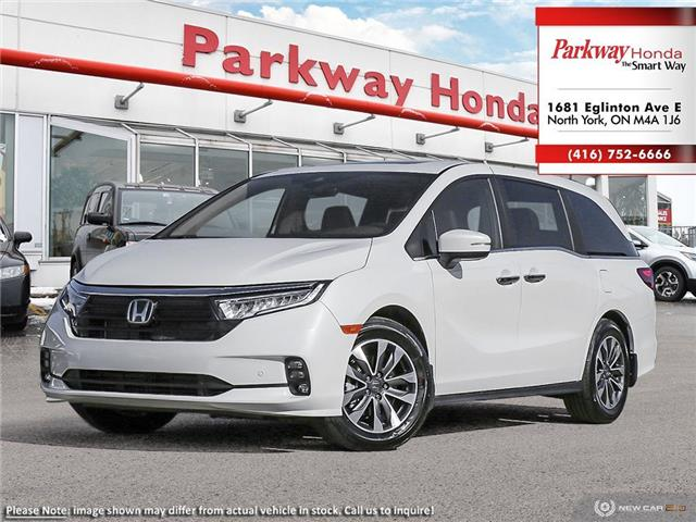 2021 Honda Odyssey EX-L Navi (Stk: I1002) in North York - Image 1 of 23