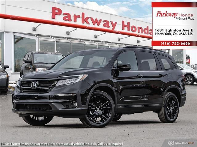 2021 Honda Pilot Black Edition (Stk: H1018) in North York - Image 1 of 23