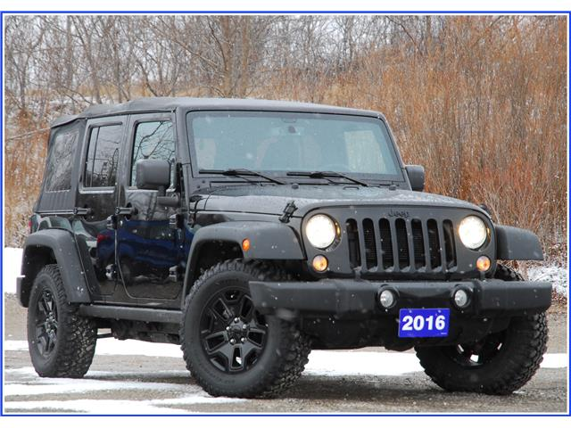 2016 Jeep Wrangler Unlimited Sport (Stk: P59531A) in Kitchener - Image 1 of 16