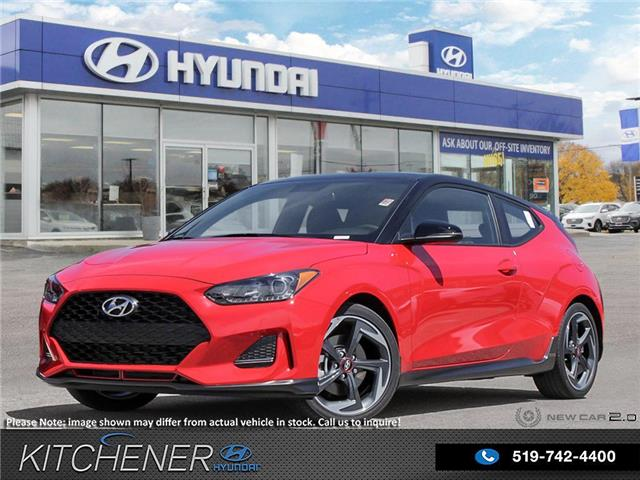 2020 Hyundai Veloster Turbo w/Two-Tone Paint (Stk: 59066) in Kitchener - Image 1 of 29