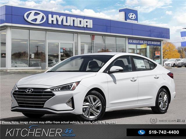 2020 Hyundai Elantra Preferred (Stk: P59875) in Kitchener - Image 1 of 25