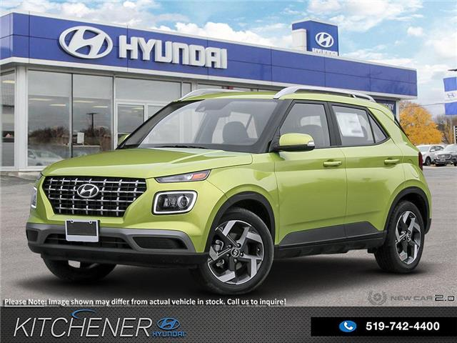 2020 Hyundai Venue Ultimate w/Grey-Lime Interior (Stk: 60030) in Kitchener - Image 1 of 23