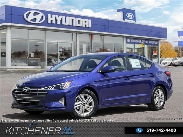 2020 Hyundai Elantra Preferred w/Sun & Safety Package (Stk: 60278) in Kitchener - Image 1 of 23