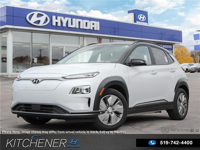 2021 Hyundai Kona EV Preferred w/Two Tone (Stk: 60333) in Kitchener - Image 1 of 28