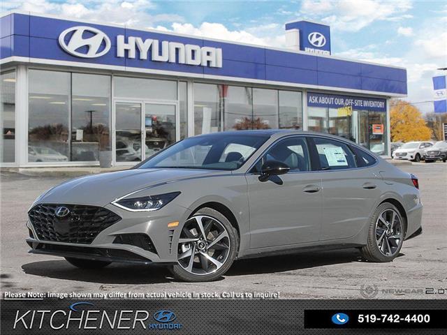2021 Hyundai Sonata Sport (Stk: 60406) in Kitchener - Image 1 of 27