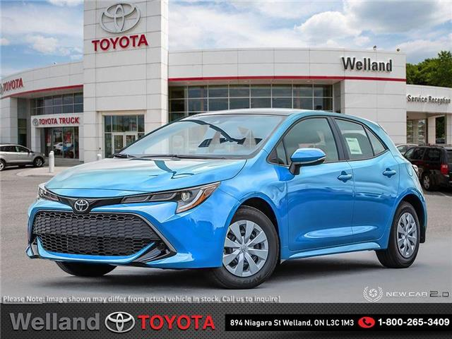 2020 Toyota Corolla Hatchback Base (Stk: L7046) in Welland - Image 1 of 25
