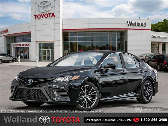 2020 Toyota Camry Hybrid SE (Stk: L7067) in Welland - Image 1 of 24