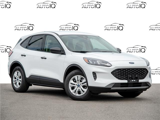 2020 Ford Escape S White