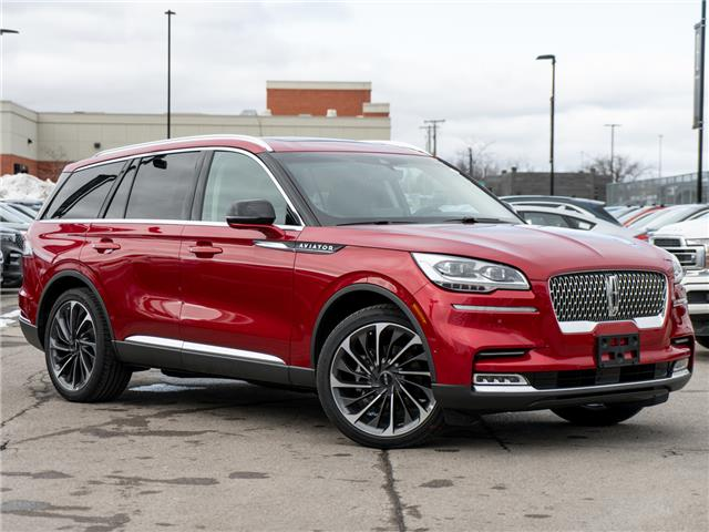 2020 Lincoln Aviator Reserve Red