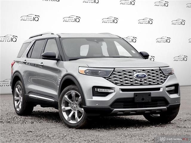 2020 Ford Explorer Platinum (Stk: U0277) in Barrie - Image 1 of 28