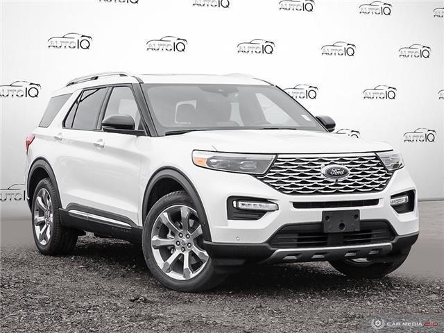 2020 Ford Explorer Platinum (Stk: U0280) in Barrie - Image 1 of 28
